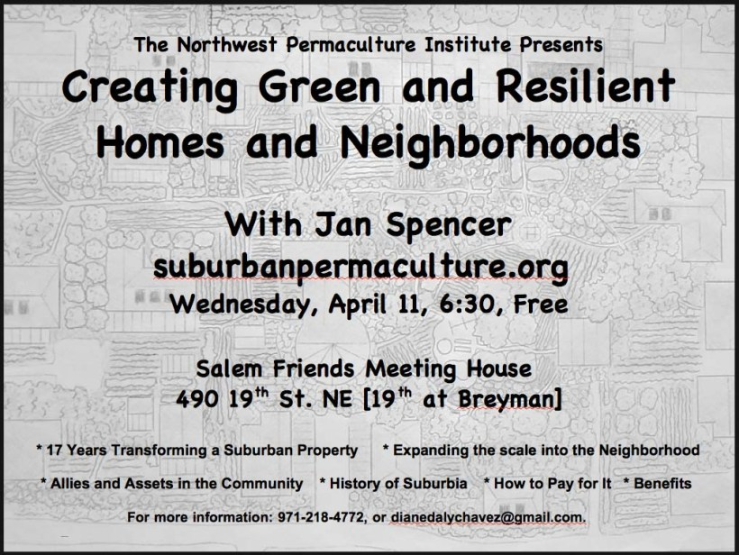 April 11 Presentation, Jan Spencer